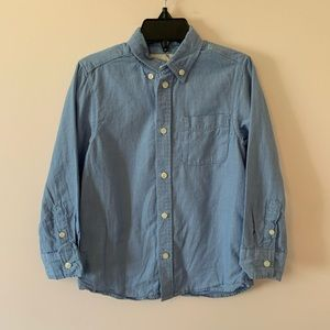 H&M Chambray Button Up Size 4 Years